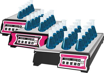 myLab® SM-05/10/15 Isıtmalı Multiplate Karıştırıcılar